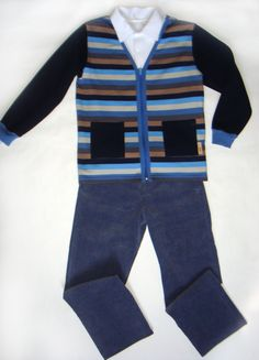 Sons, Vest, Sewing, Jackets, Fashion, Down Jackets, Moda, Dressmaking, Couture