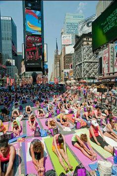 Yoga (Times Square June 21, 2013)