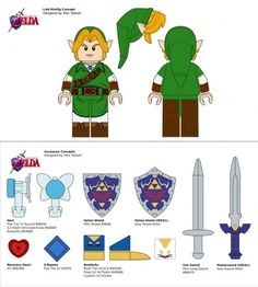 Legend of Zelda LEGO set