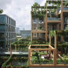 Kop Zuidas, Studioninedots + DELVA Landscape Architects + Skonk + Eigen Haard + Techniplan – BETA