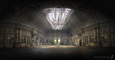 Abandoned Ballroom somewhere in Europe