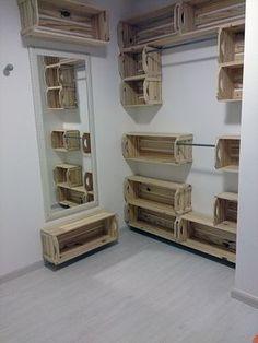 quarto de caixote