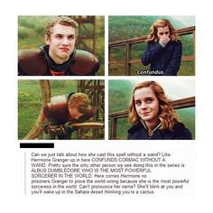 Funny pictures about Hermione is the true badass. Oh, and cool pics about Hermione is the true badass. Also, Hermione is the true badass. Images Harry Potter, Harry Potter Jokes, Harry Potter Fandom, Harry Potter Stuff, Harry Potter Spells, Harry Potter Film, Harry Potter World, Sherlock, No Muggles