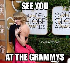 Taylor's reaction to not winning a Golden Globe: