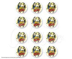 "6309 - Wild Kratts Kratt Brothers PhotoCake®  Edible Cake Image, 2"" Images"