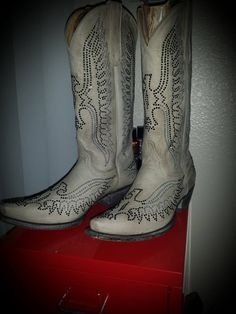 Swarovski Eagle boots