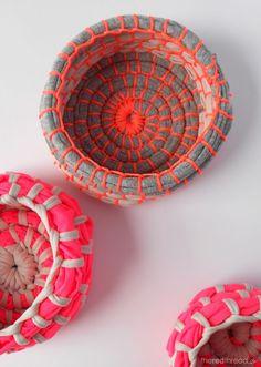 DIY Fabric Coil Bowl