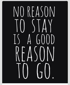 No Reason? Then thats the best one