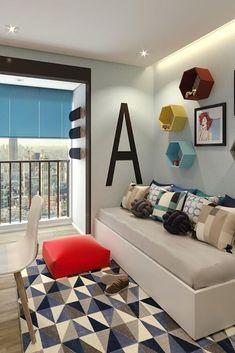 Tendência no design e na decoração de interiores, as estampas geométricas são usadas em diversos cômodos e elementos. Confira ideias!