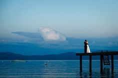 Monique Sady Photography - Beautiful Lake Tahoe wedding portrait