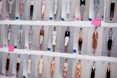 The lineup for the Altuzarra Spring 2015 show