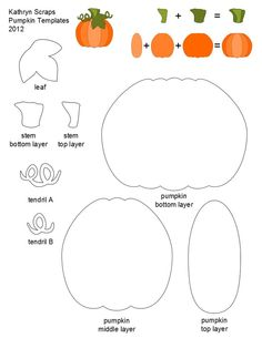 pumpkin templates to print | printable template for anyone who would prefer not to sketch their ...: