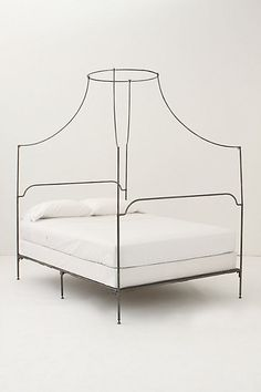 Italian Campaign Canopy Bed - anthropologie.com #anthroregistry