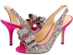 Kate Spade Glitter Heels