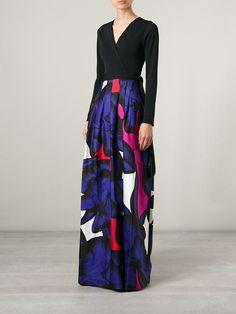 Diane Von Furstenberg Vestido Com Estampas - Dolci Trame - Farfetch.com