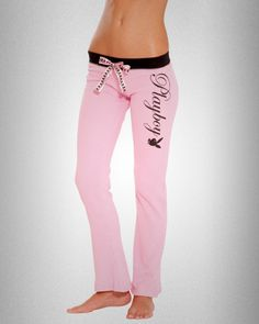 Playboy Pink Thermal PJ Pant by Playboy Intimates for PlayboyStore.com $25.95