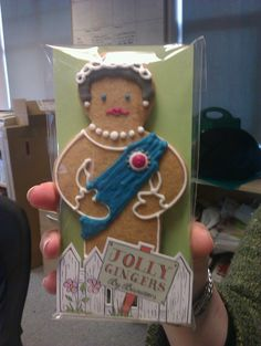 Jubilee gingerbread!