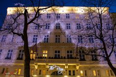 Gorgeous Christmas decorations at the Hotel The Ring in Vienna, Austria Christmas Lights, Christmas Decorations, Vienna Austria, At The Hotel, Live For Yourself, Dreaming Of You, Mansions, Ring, House Styles