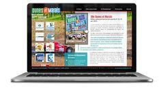 Création du site officiel du Rallye Dunes et Marais.