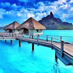 Bora Bora - Our Favorite Travel Destinations From Pinterest - Photos