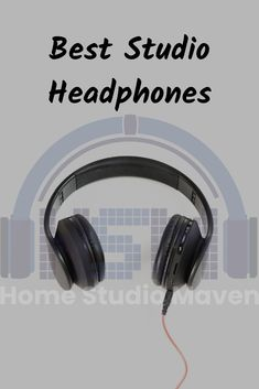 Hear your favorite songs and beats clearly by getting a great headphones with matching unique, vintage, or black aesthet Best Studio Headphones, Computer Headphones, Girl With Headphones, Studio Setup, Studio Lighting, Home Studio Music, Sound Proofing, Your Music, Listening To Music