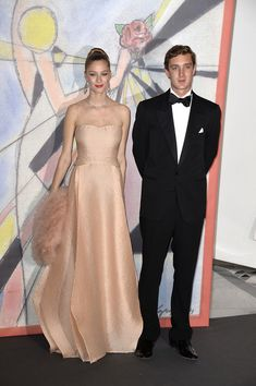 Beatrice Borromeo and Pierre Casiraghi Photos Photos: Rose Ball 2014 In Aid Of The Princess Grace Foundation In Monaco Beatrice Borromeo, Hollywood Fashion, Royal Fashion, Look Fashion, Monaco Royal Family, Princess Caroline Of Monaco, Stylish Couple, Grace Kelly, Wedding Looks