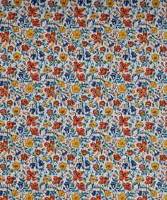 Liberty Art Fabrics Helena's Meadow A Tana Lawn Cotton | Fabric | Liberty.co.uk