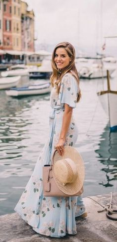 A printed maxi dress is perfect for almost every occasion! Pack them for your next trip this summer or sport them at an upcoming outdoor party!