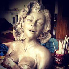 CeramicArtbyKamil Marilyn Monroe, Statue, Art, Art Background, Kunst, Performing Arts, Sculptures, Marylin Monroe, Sculpture