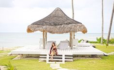 Come Closer With Nivea At Balesin - Camille Tries To Blog Camille Co, Beach Fashion, Photo Diary, Closer, The Help, Gazebo, Outdoor Structures, Patio, Outdoor Decor