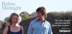 Find out why critics are falling in love with Before Midnight - NOW PLAYING! Before Midnight, Before Sunrise, Girl Stuff, Falling In Love, Romance, Entertaining, Film, Movie, Movies