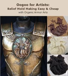 #Oogoo #moldmaking book shows how we make the molds we use to cast #latex
