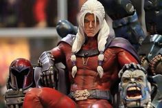 I Want This Side Show Collectable Age of Apocalypse Magneto Statue! Comic Book Characters, Marvel Characters, Comic Character, Character Design, Arte Final Fantasy, Marvel Statues, Custom Action Figures, Dc Heroes, Marvel Dc Comics