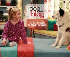 Thank you all for helping to make Dog with a Blog the #1 show on Disney Channel for the past month!   #GHannelius #DWAB #BestFansEver