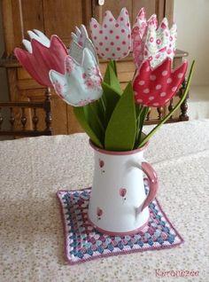 tulipes - fabric