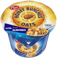 Post Honey Bunches Of Oats Cereal Almond, Oz (Pack of