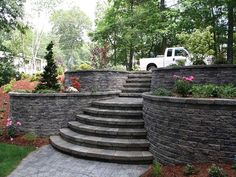cheap retaining wall design ideas