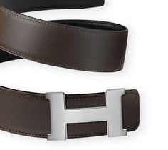Classic Hermès belt