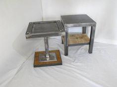 1000 images about industriel vintage design on pinterest assemblages du bois and consoles. Black Bedroom Furniture Sets. Home Design Ideas