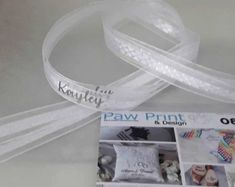 Personalised and Custom Shoe Laces in satin and iridescent