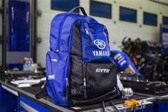 Yamaha Motor, North Face Backpack, The North Face, Backpacks, Blue, Collection, Style, Fashion, Moda