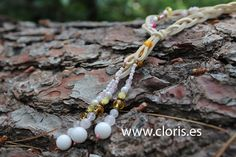 SOFT CREAM necklace in pink, yellow, white and gold with tiger's eye, hematite, carved crystal, quartz, moonstone, mother of pearl, river pearl and alabaster. Ideal for women with brown hair and golden skin. For daily look. #casual #fashion #accesories #ethnic #handmade #handcraft #boho #madeinspain #love #woman #original #new #ibiza #awesome #style #valencia #design #boho #bohochic #necklace #white #nude #silver #golden #nude #gemstones #nacre #hematite #anteline #alabaster #moonstone…