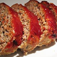 Knock-Your-Pants-Off Sweet & Spicy Glazed Buttermilk Meatloaf by Angie