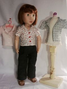 Set of 3 blouses for A Girl For All Time Dolls by Gwendollys