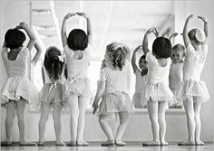 Sweet and little ballerinas....