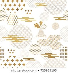 Find Beautiful Japanese Seamless Pattern Vector Unique stock images in HD and millions of other royalty-free stock photos, illustrations and vectors in the Shutterstock collection. Paper Book Covers, Concrete Wall Texture, Chinese Patterns, Chinese Design, China Art, Japan Art, Pattern Illustration, Anime Art Girl, Logo Design Inspiration