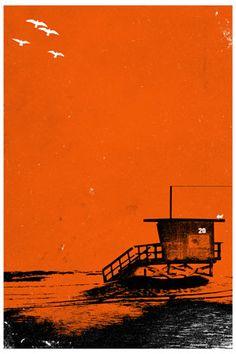 Tower 20 Poster (Orange)