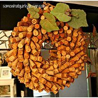 Put those corks to good use! I made a little tutorial for how to make…