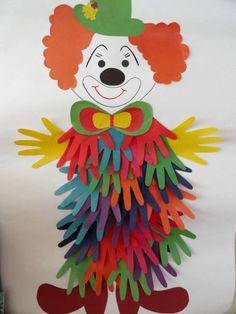 28 Ideas Kids Crafts: Paper Handprints | PicturesCrafts.com