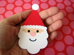 santa, is beard from a flower shape? Kindergarten Christmas Crafts, Christmas Arts And Crafts, Santa Crafts, Felt Christmas Ornaments, Christmas Sewing, Christmas Projects, Toddler Arts And Crafts, Kids Crafts, Preschool Crafts